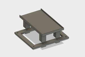 SLA LCD Mountadapter1 300x202 - Bauanleitung: SLA-LCD 3D-Drucker selber konstruieren - Teil 4