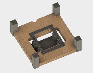 SLA LCD Mountadapter2 300x236 - Bauanleitung: SLA-LCD 3D-Drucker selber konstruieren - Teil 4