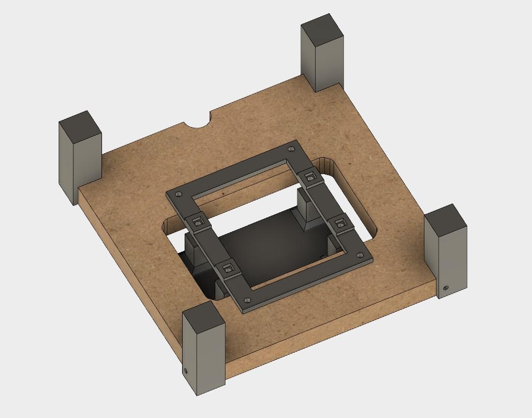 bauanleitung sla lcd 3d drucker selber konstruieren teil 4. Black Bedroom Furniture Sets. Home Design Ideas