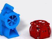 Grafter 3D-Software erlaubt das Zusammensetzen von mechanischen Bauteilen
