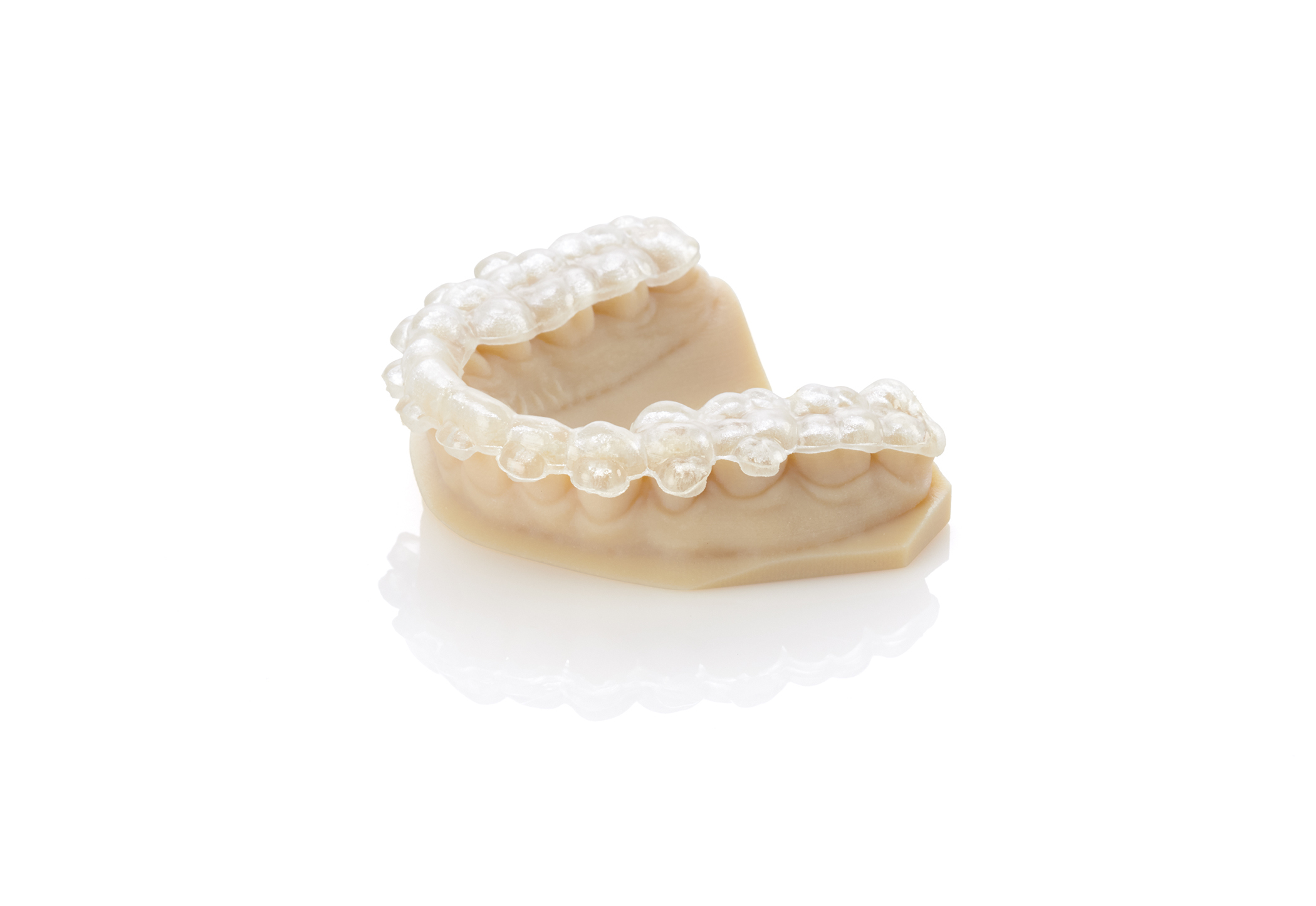 stratasys objet 260 3D Drucker zahnschienen - Stratasys präsentiert Objet260 Dental 3D-Drucker