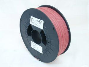 100540 purefil PLA faserrot 1kg 1.75mm 1 300x225 - PLA Filament mit Textilfasern