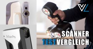 SCANNER TESTVERGLEICH 1 300x157 - Praxistest handgehaltene 3D-Scanner Artec, Shining und Creaform