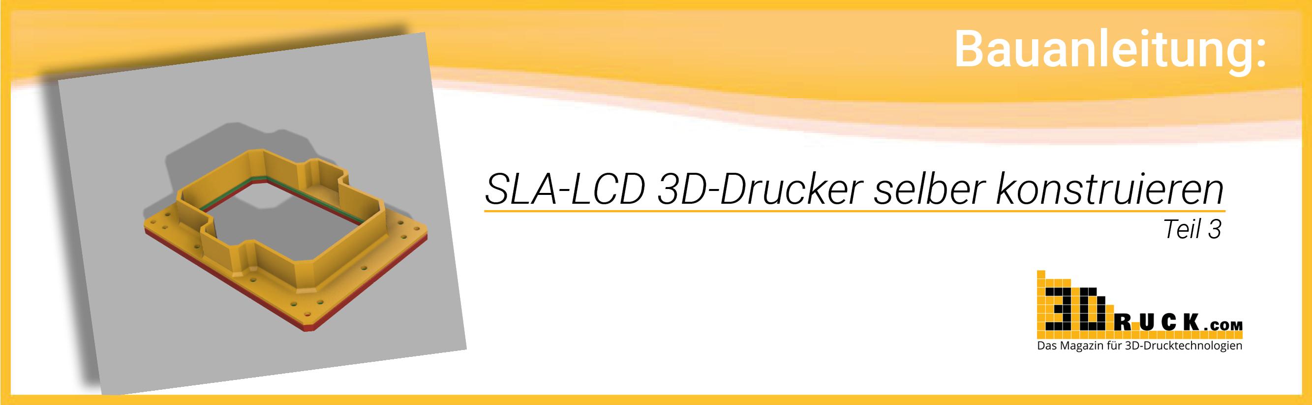 bauanleitung sla lcd 3d drucker selber konstruieren teil 3. Black Bedroom Furniture Sets. Home Design Ideas