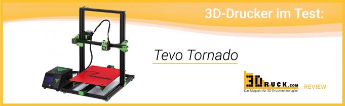 Review: Tevo Tornado 3D-Drucker