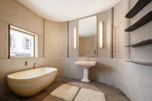 3D housing 05 badezimmer 300x200 - Milan Design Woche öffnet mit schönstem bisher 3D-gedruckten Haus