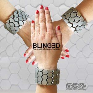 """3d gedruckte armbänder olaf diegel bling3d 300x300 - Olaf Diegel präsentiert 3D-gedruckte Armband-Serie """"BLING3D """""""