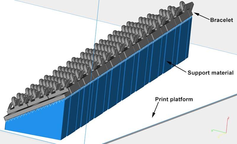 "3d gedruckte armb%C3%A4nder olaf diegel bling3d anleitung - Olaf Diegel präsentiert 3D-gedruckte Armband-Serie ""BLING3D """