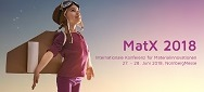 Keyvisual MatX 2018 klein V2 - MatX präsentiert Technologien und Potentiale der Additiven Fertigung, 27.-28.06.2018, NürnbergMesse