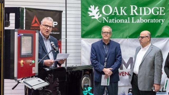 MVP ORNL 3D Printer ORNL - Erster 3D-Drucker für Duroplaste vorgestellt