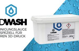 3DWASH Reinigungslauge von Traxer für laugenlösliche Stützmaterialien ist jetzt in 9 Sprachen verfügbar