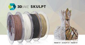 skulpt 600x320 300x160 - 3DJAKE SKULPT Filament - modellierbares Filament