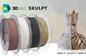 3DJAKE SKULPT Filament – modellierbares Filament