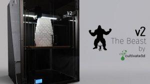 the beast v2 3d drucker kickstarter cultivate3d 300x168 - The Beast V2: Neuer 3D-Drucker mit großem Bauraum auf Kickstarter