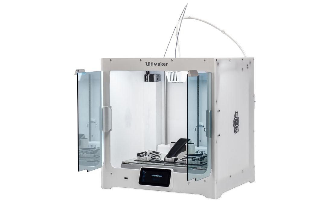 ultimaker s5 3d drucker 3d printer - Ultimaker präsentiert S5 Desktop 3D-Drucker mit großem Bauraum
