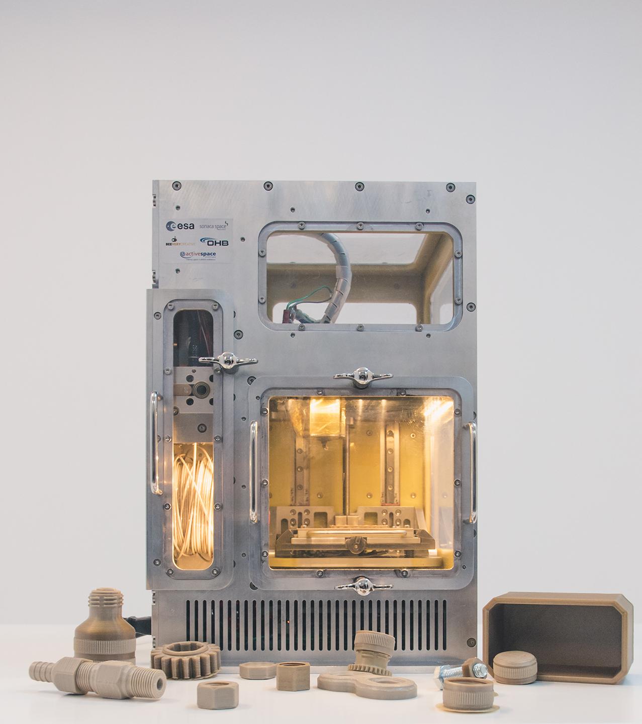 3d drucker esa melt beeverycreative1 - ESA erhält 3D-Drucker für ISS Raumstation