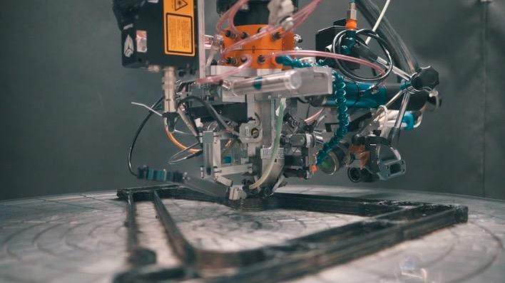 Arevo 3d druck roboter fahrradrahmen - Arevo präsentiert 3D-gedruckten Fahrradrahmen aus Carbonfaser-Material