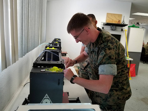 Lolzbot in Kuwait - Intensives 3D-Druck-Training für US Marines