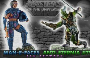 3D Druck Fanprojekt: Masters of the Universe Redesign