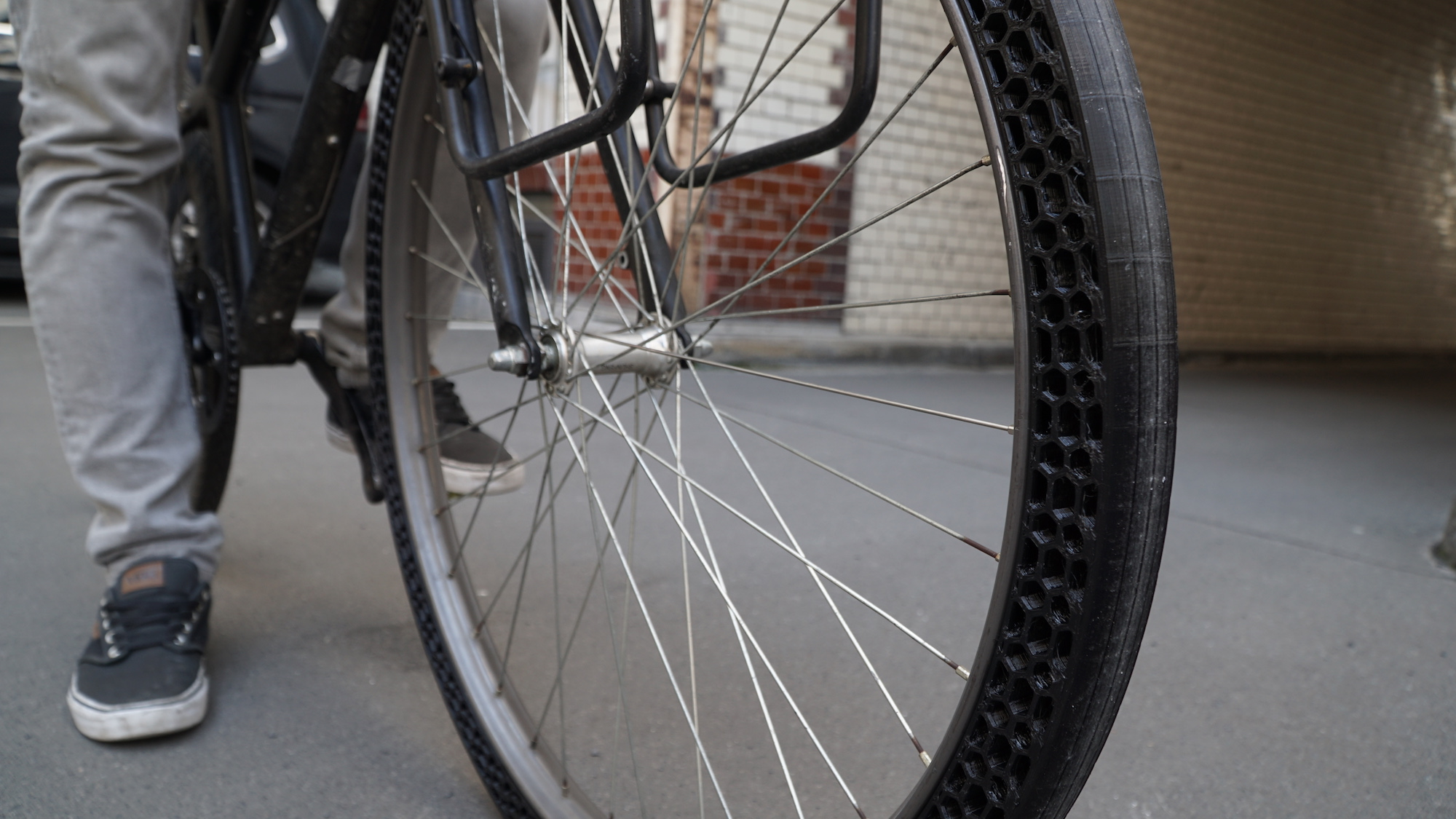 airless fahrradreifen 3d Gedruckt bigrep1 - Erster 3D-gedruckter airless Fahrradreifen