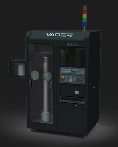 ares system vader systems metallpulver - Vader Systems kündigt neue Magnet-o-Jet 3D-Metalldruck-Systeme an