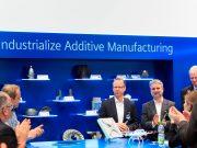 Siemens eröffnet Kompetenzzentrum für Additive Fertigung in Erlangen