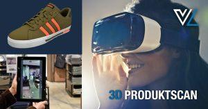 3D Produktscan 300x157 - 3D-Scannen von Produkten für AR/VR oder als Alternative zum Nachtexturieren
