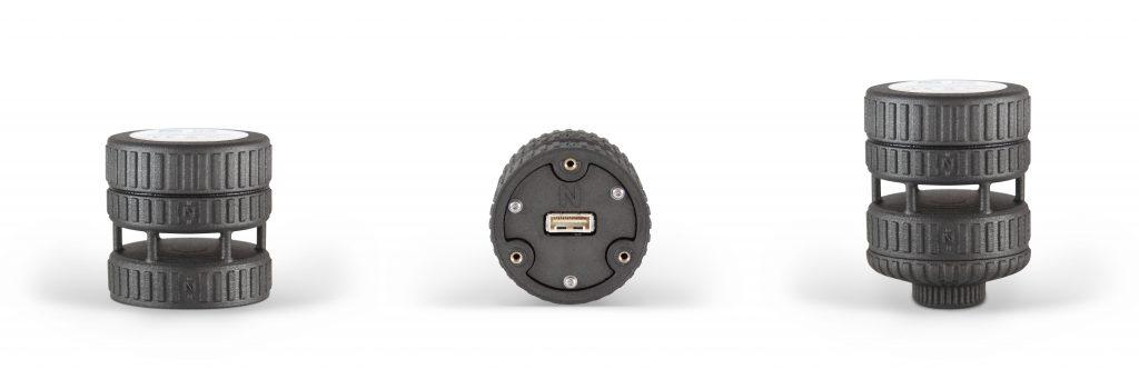 3D gedruckter FT205 Sensor speziell f%C3%BCr Drohnen Fl%C3%BCge entwickelt - FT205: 3D-gedruckter Sensor speziell für Drohnen-Flüge