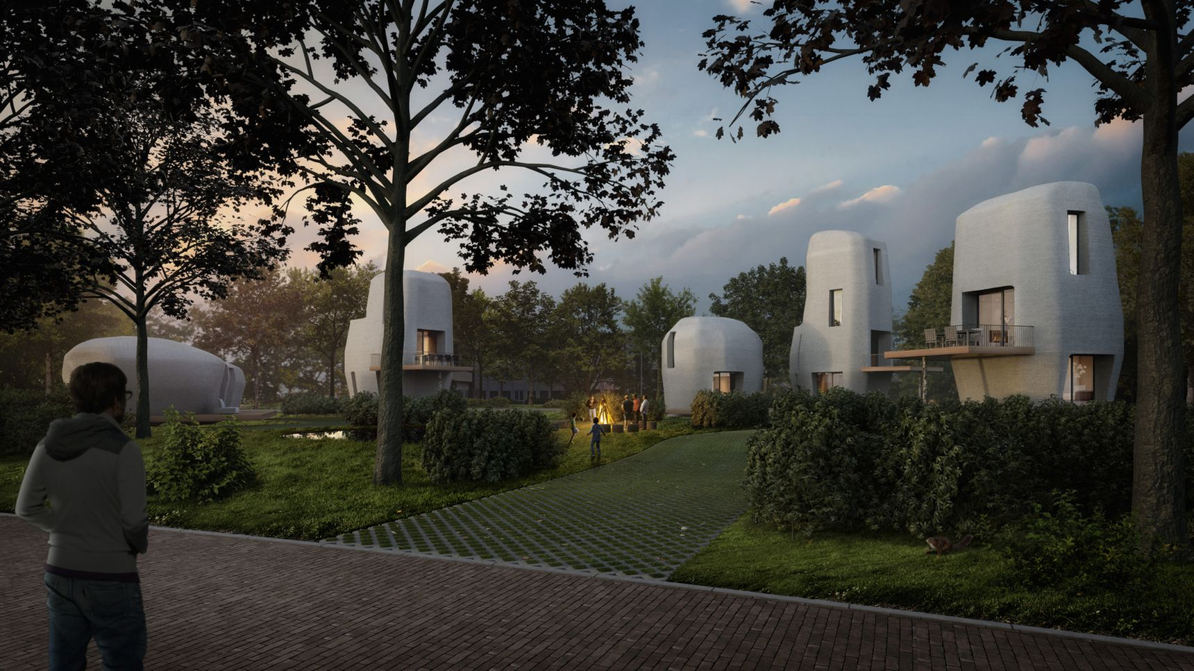 Project Milestone: fünf 3D-gedruckte Beton-Häuser für Eindhoven ...
