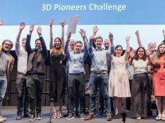 Gruppenfoto der Gewinner (Foto: Rapid.Tech+FabCon 3.D)