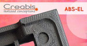 ABS EL 3ddruck 300x160 - Gegen elektrostatische Aufladung: Creabis verbaut ABS-EL