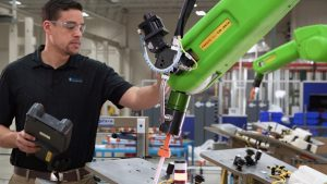 Collaborative Robot 602x339 1 300x169 - Automation-Trends auf der IMTS 2018
