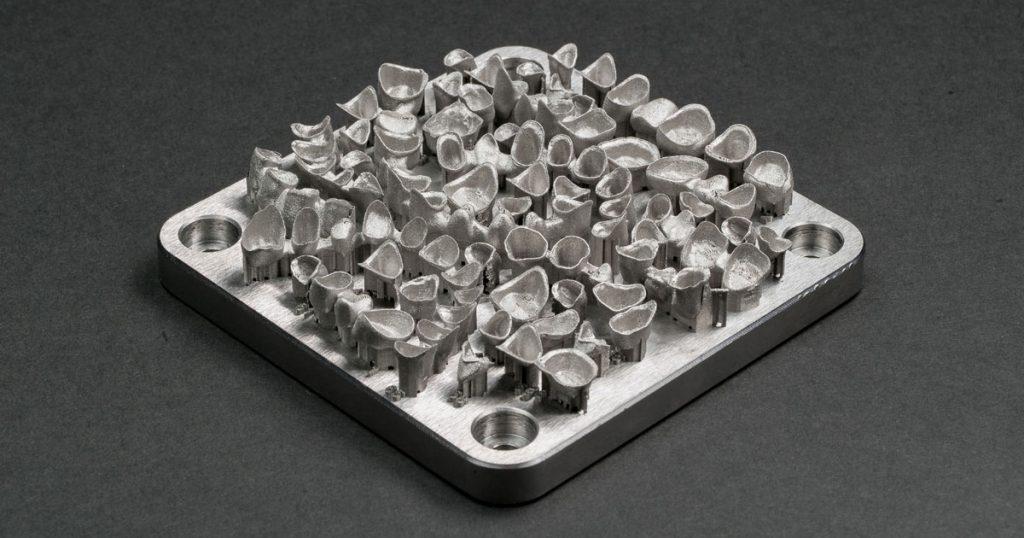 Crown copings 1024x538 - 3D Systems stellt neue 3D-Metall-Drucker DMP Flex 100 und DMP Dental 100 vor
