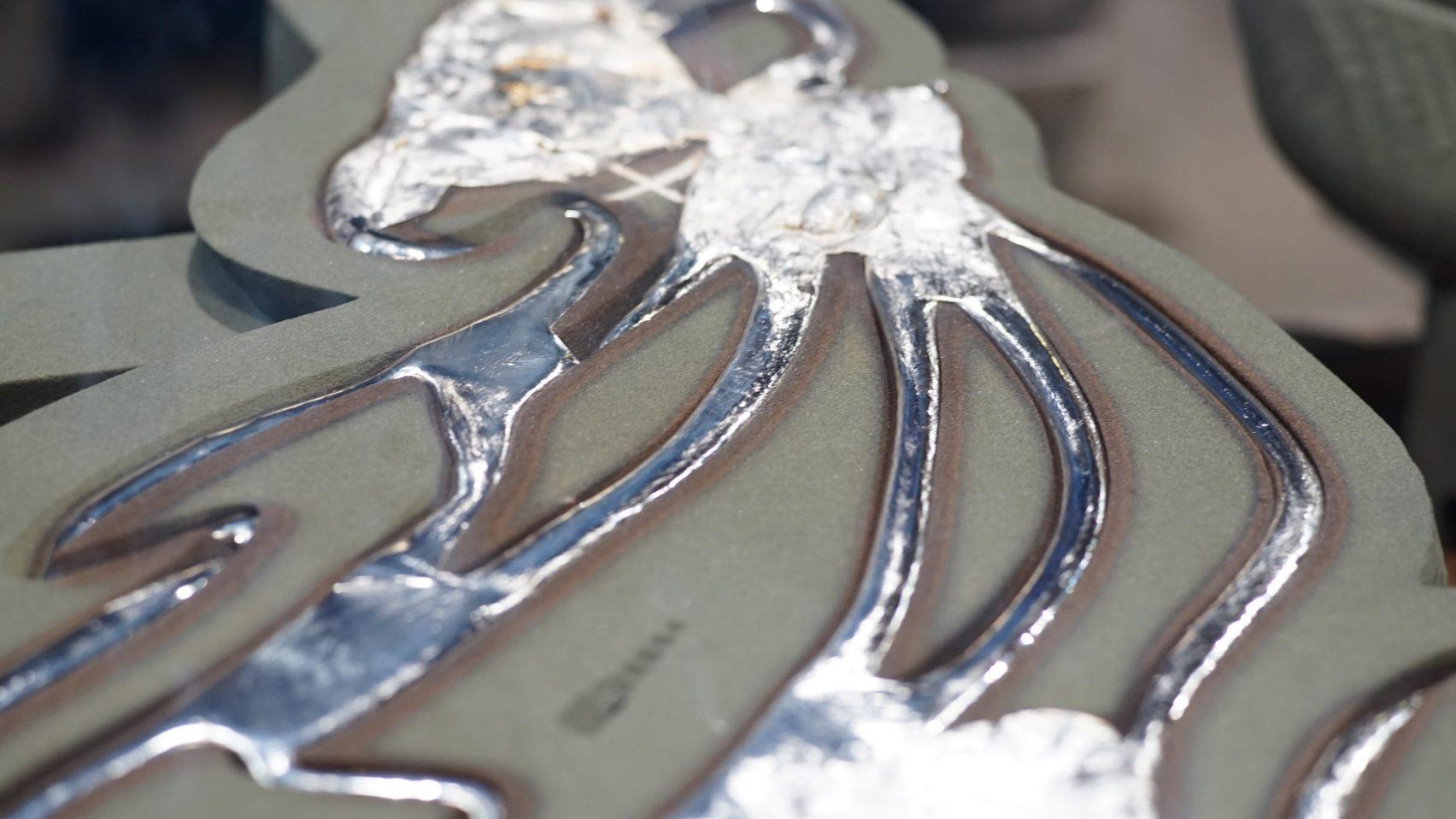 Deep Facade experimentelle Metallfassade aus 3D gedruckten Sandformen2 - Deep Facade: experimentelle Metallfassade aus 3D-gedruckten Sandformen