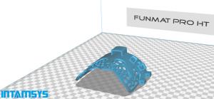 FUNMAT PRO HT INTAMSYS Druck Orthese 300x139 - 3D-gedruckte Knieorthese BioNEEK zur Verbesserung der Ausdauer und Beweglichkeit