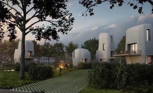H%C3%A4user2 e1528712232705 - Die ersten 3D-gedruckten Häuser in denen man tatsächlich leben kann