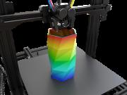 M3D präsentiert Crane Quad Desktop 3D-Farbdrucker