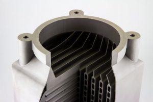 Materialise Hybridgefertiges Metallteil 300x200 - Materialise und HCL Technologies entwickeln gemeinsam Plattform zur Hybridfertigung