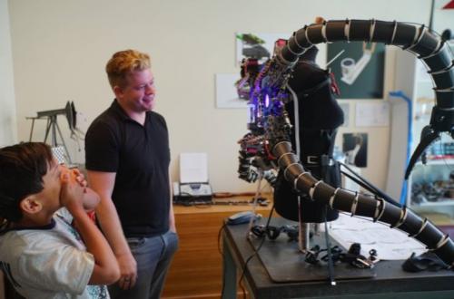 Octopus1 e1528802976168 - Jüngster Bitcoin Millionär verwendet 3D-Druck zur Bekämpfung von Hypermobilität