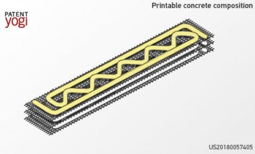 Patent 1 e1530003997664 - Neue 3D-Druckbeton-Verbundwerkstoffe für den schnellen Bau von Gebäuden