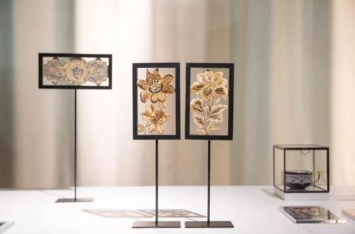 """Textilkunst e1530102253134 - Bei der Ausstellung """"Lace to meet you"""" neben traditionellen Textilien auch 3D-Druck mit an Board"""