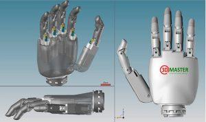 ZORTRAX 3Dgedrucktes Hand Model 300x178 - Bionische Hand gibt vietnamesischen Pilot wieder neue Hoffnung