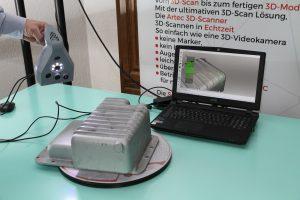 03 Artec 3D 3D Scan einer OElwanne  3  300x200 - Oldtimer-Restauration: 3D-Scanner ermöglichen den Nachbau von Ersatzteilen