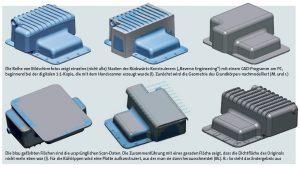 06 Artec 3D Reverse Engineering OElwanne 1 300x169 - Oldtimer-Restauration: 3D-Scanner ermöglichen den Nachbau von Ersatzteilen