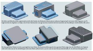 06 Artec 3D Reverse Engineering OElwanne 300x166 - Oldtimer-Restauration: 3D-Scanner ermöglichen den Nachbau von Ersatzteilen