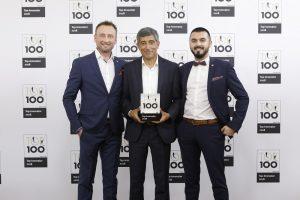 3D Generation TOP 100 Preisverleihung 300x200 - 3D-Scan-Start-up 3D GENERATION gehört zu Deutschlands TOP 100 Innovationsführern 2018