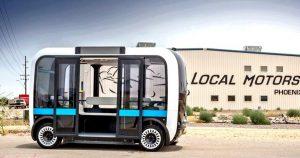 LocalMotors Olli Thermwood lmIndustrie 300x158 - Weltgrößter Drucker zum Herstellen von selbstfahrenden Autos