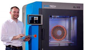 evotech titelbild 300x176 - EL-102: EVO-tech stellt neuen 3D-Drucker vor