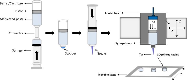 3D Druck von Paracetamol Tabletten mit definierten Freisetzungsprofilen3 - 3D-Druck von Paracetamol-Tabletten mit definierten Freisetzungsprofilen