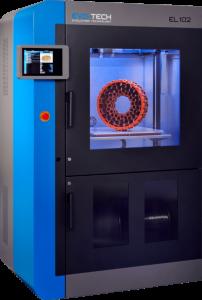 EL 102 202x300 - EVO-tech präsentiert 3D-Drucker im XL-Format